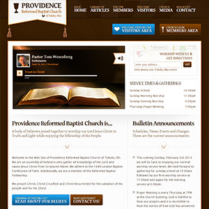 Providence Reformed Baptist Church